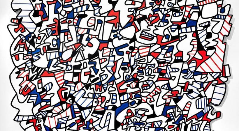 Jean Dubuffet est connu pour avoir été un artiste insaisissable