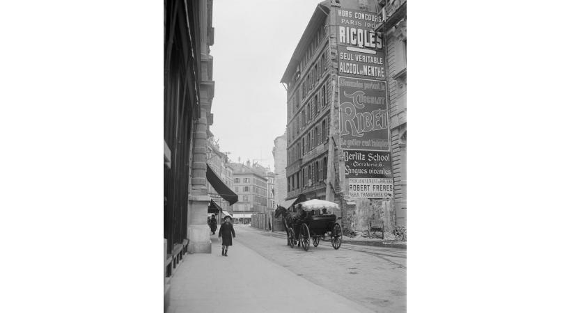 En un peu plus d'un siècle, la ville de Genève a bien changé. DR