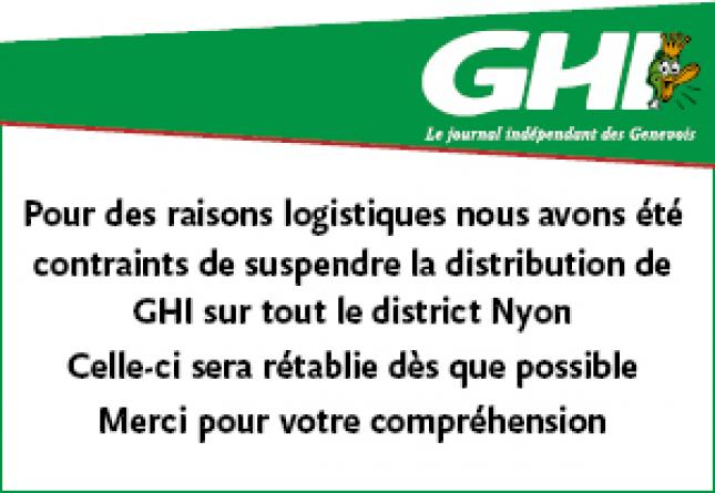 GHI - Distribution suppression Nyon Covid-19